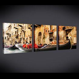 Wholesale decorative canvas print art - Venice's morningWholesale 3modern decorative painting art, painting, oil painting, landscape painting wholesale sales, the living room, KTV