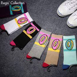 meias estranhas Desconto Atacado-Moda ímpar futuro Socks Donut OFWGKTA para Skate Street Sport
