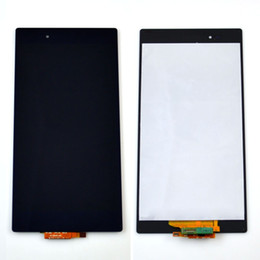 Wholesale Touch Screen Lcd Xperia - New lcd screen with touch display digitizer assembly For Sony for Xperia Z Ultra XL39h C6833 C6802 free shipping