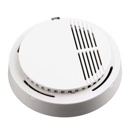 Rilevatore di fumo wireless fotoelettrico 20xStable Sensore di allarme sensore di allarme antincendio sensibile per il sistema di sicurezza domestica senza fili da