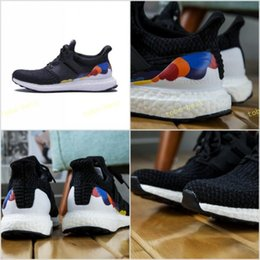 Wholesale Hiking Boots For Women - 2017 Ultra Boost 3.0 LGBT Primeknit Rainbow Pride sneakers For Men Women ultraboost Primeknit Running Shoes Size EUR 36-45
