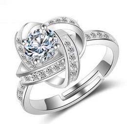 B273 Boutiques de bijoux de luxe Western fashion Eternal Star Diamond Bague Rotary Couples se marient bagues Bague plaquée argent pour femmes ? partir de fabricateur