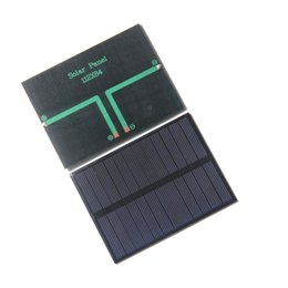 Wholesale Mp5 Kits - HOT High Quality 1.2W 6V Small Solar Panels Pocrystalline Silicon Solar Cells DIY Solar Cell Module Educational Kits Epoxy Free Shipping