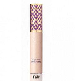 Wholesale Foundation Sand - 2017 New makeup famous brand Foundation Shape Tape Concealer contour 5 colors Fair Light Light medium Medium Tan Light sand 10ml free ship