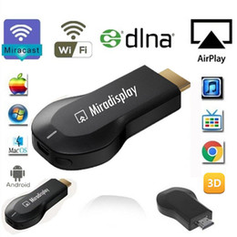 Argentina IOS9 Miradisplay WIFI Display Dongle HDMI 1080P Red TV Stick OTA DLNA Airplay Miracast Chromecast para Windows / MacOS / Android Suministro