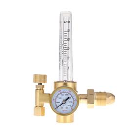 Wholesale Gauge Reducer - Carbon Dioxide CO2 Argon Pressure Reducer Mig Tig Flow Meter Control Valve Regulator for Gauge Welding Weld Gas