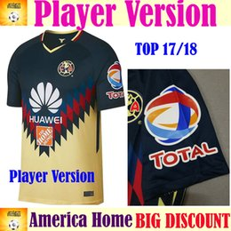Wholesale Football German - Player Vision 2018 Club America Home AeroSwift Mexico Liga Soccer Jersey camiseta German football Mexican league jersey Football Shirts