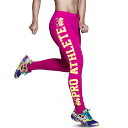 Wholesale Tight Clothes Dance - New Fashion Women Tights Leggings High Quality Colorful 3D Yoga Leggings Printed Leggings Clothes Women Black Dance Leggings Pink White