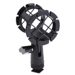 Wholesale Shock Camera - POPLAR Camera Shock Mount Suspension Holder With Hot shoe For Microphone Mic