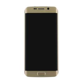 Schermo digitale touch screen online-Nuovo OEM Digital Touch Screen Digitizer con Frame sostituzione per Samsung Galaxy S6 Edge G925F G925A G925 G925T G925P G925V G925V G925