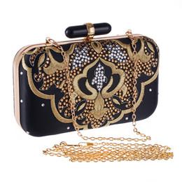 Wholesale Flora Bags - 20cm Handmade iphone 6 plus Evening Clutch Purse Diamond Crystal Chain flora Fashion lady Designer Evening Bag