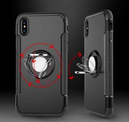 Wholesale Parts Accessories For Mobile - Luxury Case for iphone 8 Case Car Holder Stand Magnetic Suction Bracket Mobile Phone Accessories Parts Cover for iphone8 Cases