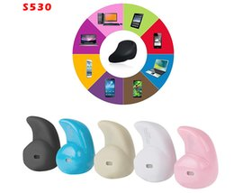 Wholesale Super Mini Invisible - Mini Bluetooth 4.0 Earphone Stereo Light Wireless Invisible Headphones S530 Super Headset Music answer call Hot selling