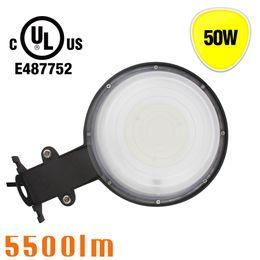 Wholesale outside security - UL cUL Listed LED 50W Yard Lighting Photocell Sensor Outside Security Wall Light Dusk to Dawn Barn Lamp