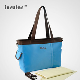 Wholesale Cheap Diaper Bag For Baby - 2014 New Arrival Cheap Baby Diaper Bags Multifunctional Mummy Bags Nappy Bags For Stroller