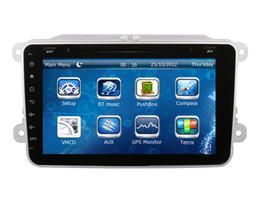 "Wholesale Radio Dvd Bora - 8"" Car DVD Player for Skoda Octavia Fabia Superb with GPS Navigation Radio BT AUX USB Audio Video Stereo"