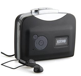 Wholesale Free Pc Drivers - Portable USB Cassette Tape to PC MP3 Converter Capture Cassette Stereo Audio Player Recorder Free Driver Without PC