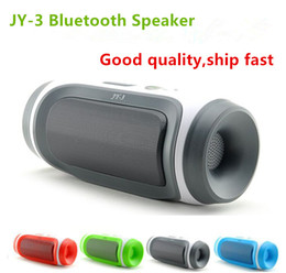 Wholesale Perfect Button - JY-3 Bluetooth Mini Speaker Portable Wireless Bluetooth Speaker Perfect Sound Subwoofer Speaker Free Shipping DHL JY3