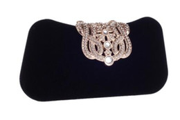japan cell phones Coupons - Brand Women Small Shoulder Bags Glossy Rhinestone Evening Purse Mini Party Clutch Handbag Red SMYXS Evening Bags