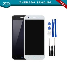teléfono celular zte blade Rebajas Venta al por mayor: pantalla LCD ZTE Blade V6 + pantalla táctil 100% reemplazo de ensamblaje de digitalizador de pantalla original para teléfono celular ZTE Blade V6 + herramientas