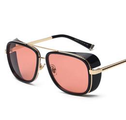 Wholesale Wholesale Personalized Sunglasses - 2016 IRON MAN Matsuda Same Model Tony Sunglasses Woman Men Brand New Personalized Sun Glasses Sports Eyewear Vintage # WY22