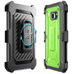 Wholesale housing for iphone green - For galaxy S7 S7 edge hybrid robot case SUPCASE Heavy Duty Rugged Armor Phone Shockproof Back Cover Housing Case for iphone