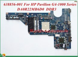 Wholesale Amd Pavilion - 638856-001 For HP Pavilion G4-1000 Series Laptop Motherboard DA0R22MB6D0 Socket S1 DDR3 High Quality&100% Tested