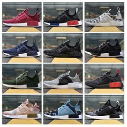 Wholesale Cheap Black - Adidas Originals 2018 NMD_XR1 PK Running Shoes Cheap Sneaker NMD XR1 Primeknit OG PK Men Women Running Shoes Sneakers Size 36-45