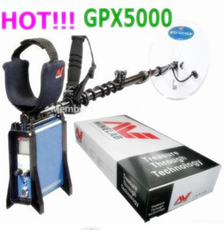 Wholesale Long Range Gold Detectors - Wholesale-DHL Free Shipping Underground Gold Detector,Ground Search Gold Detector GPX5000 with earphone GPX5000 Long Range Gold Detector