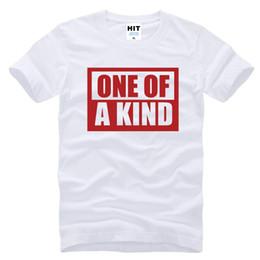 Wholesale Kpop Fashion Men - WISHCART KPOP Big Bang G Dragon GD One Of A Kind T Shirts Men Hip-hop Cotton Casual Fashion T-shirt Tee