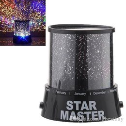 Wholesale Wholesale Gifts For Home Parties - Starry star master led night light projector LED light for home sky master led lamp 4colors children gift For Christmas Atmosphere Light