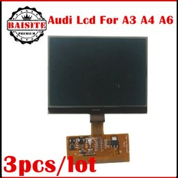 Wholesale Audi A3 Lcd - 2017 High quality New VDO LCD Display for Audi A3 A4 A6 for VW 3pcs lot LCD Display For AUDI A3 A4 A6 S3 S4 S6 VW VDO free shipping