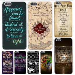 Argentina Harry Potter Caso Marauders Hogwarts Mapa Palabras Moda Hot Arrival Plástico Shockproof Hard PC Cubierta Shell Para iPhone 8 7 Plus 6 6S SE 5 5S Suministro