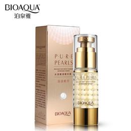 Wholesale Hydrating Whitening Cream - BIOAQUA Brand Skin Care Pure Pearl Essence Collagen Hyaluronic Acid Face Moisturizing Hydrating Anti Aging Cream