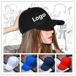 Wholesale Cheap Hats Logo - Logo Custom Baseball Caps Adjustable Snapback Adult Kids Size Embroidery Printing Logo Fitted Full Complete Closed Hat Cheap And Profession