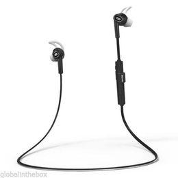 Wholesale Bt Earphones - Bluedio M2 Bt 4.1 Wireless Sports Stereo Waterproof Headset Earbuds Earphone Blk For Cell Phones