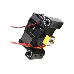 Wholesale Filament Extruder - Freeshipping 3D Printer Head MK8 Extruder Kit J-head Hotend Nozzle Feed Inlet Diameter 1.75 Filament Extra Throat