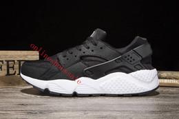 Wholesale Cheap Rubber Flooring Wholesale - Wholesale Classical Huaraches Running Shoes For Women & Men, Breathable Cheap Air Huarache Athletic Sport Sneakers Eur Size 36-45