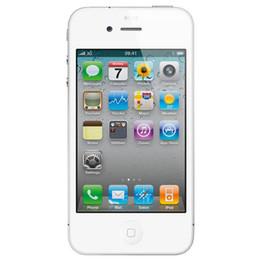 Teléfono original 4s online-100% original de Apple iPhone 4S celular restaurado iOS 8 de doble núcleo 8GB / 16GB / 32G 3.5 pulgadas 8MP cámara WiFi 3G GPS Smartphone