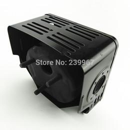 Wholesale Heat Shield Cover - Muffler & Heat shield fits Honda GX240 GX270 8 9 HP water pump free shipping cheap exhaust muffler cover guard 18310-ZE2-W00