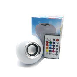 30% E27 LED Ampoules Bluetooth sans fil Bluetooth 6W LED Président RGBW Musique jouant l'éclairage avec 24 touches IR Télécommande Livraison gratuite ? partir de fabricateur
