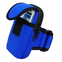 Wholesale Cell Stuff - New Fashion Small Gym Bags For Men & Women Portable Outdoor Sports Arm Pouch For Phone Key Money Waterproof Nylon breathable Arm Bag F385
