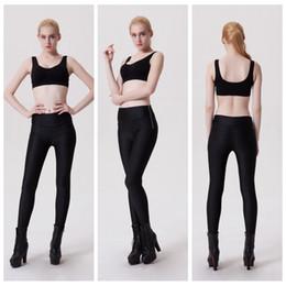 Wholesale Tight Zipper Pants - Side Zipper Leggings Track Tight Long Yoga Pant Quick Dry Jogging Sports Trousers Bodybuilding Run Training Elastic Capris Female LNSLgs