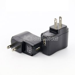 Wholesale Ego Charger Adapter - EGO Wall Charger Black USB AC Power Supply Wall Adapter Adaptor MP3 Charger USA Plug work for EGO-T EGO 510 Thread Battery