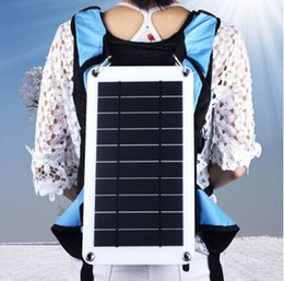 Wholesale Mini Solar Mobile Phone Charger - 8W PET mono solar cell mini solar panel mobile phone charger China factory directly accept OEM