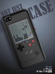 Wholesale Game Console Cases - Multi-function Game Case Within Retro Classic Handheld Game Console Portable Game Players Tetris Tanks War Childhood Games TPU Phone Case