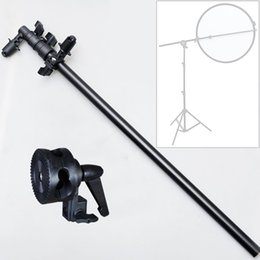 Wholesale Arm Light Stand - Photography Equipment Light Stand Booms Reflector bracket arm for reflector frame bold increase stent for Photo