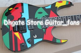 Wholesale Electric Guitars China - MONSTER AXE Super RARE Electric Guitar ollection JPM100 P1 JohnPetrucci Electric Guitar China Guitar Factory Outlet