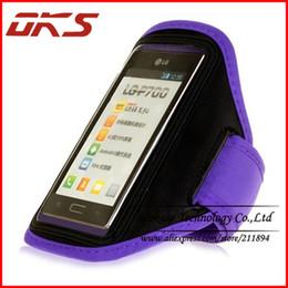 Wholesale Optimus L7 - Wholesale-Gym Sports Running Armband Case For LG Optimus L7 P705 P700