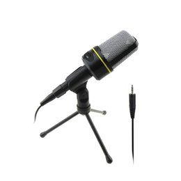 Wholesale Computer Internet Wires - SF-920 3.5MM stereo Desktop Microphone for fm transmitter, Internet chat, training, internet game